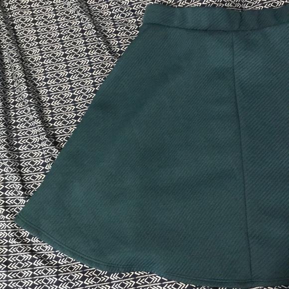 Charlotte Russe Dresses & Skirts - Charlotte Russe Turquoise Skater Skirt
